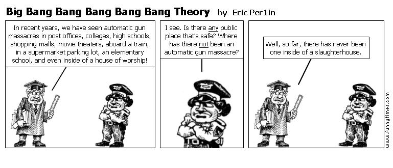Big Bang Bang Bang Bang Bang Theory by Eric Per1in