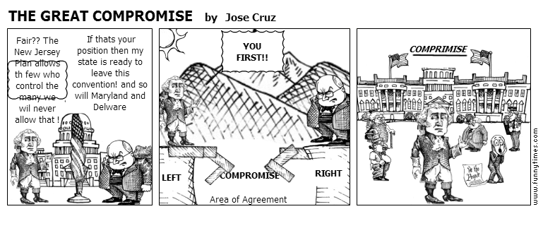 THE GREAT COMPROMISE by Jose Cruz