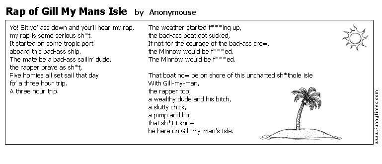 Rap of Gill My Mans Isle by Anonymouse