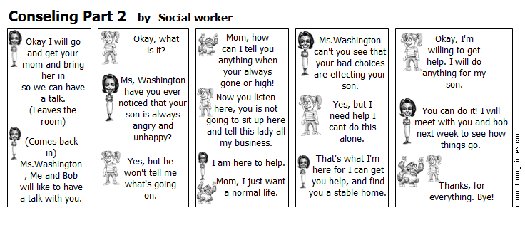Conseling Part 2 by Social worker