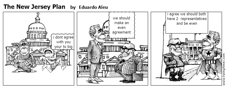 The New Jersey Plan by Eduardo Aleu