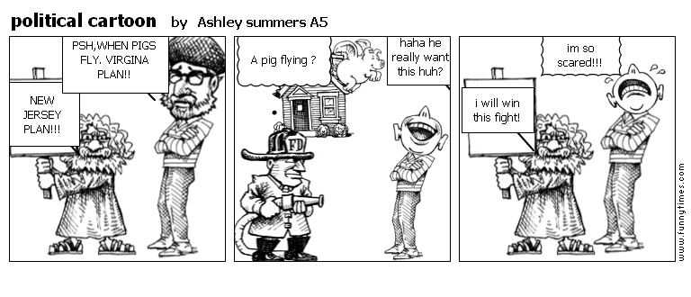 political cartoon by Ashley summers A5