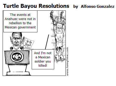 Turtle Bayou Resolutions by Alfonso Gonzalez