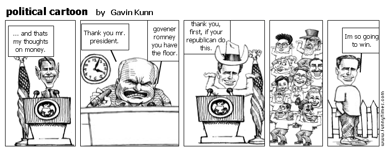 political cartoon by Gavin Kunn