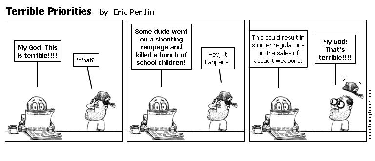 Terrible Priorities by Eric Per1in