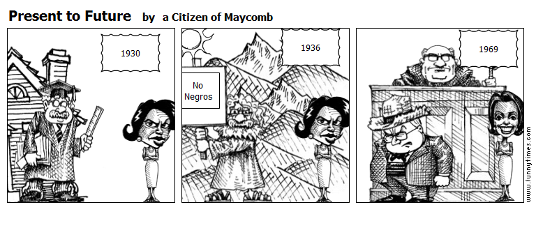 Present to Future by a Citizen of Maycomb
