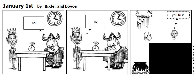 January 1st by Bixler and Boyce