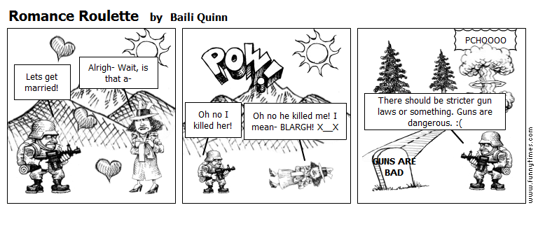 Romance Roulette by Baili Quinn