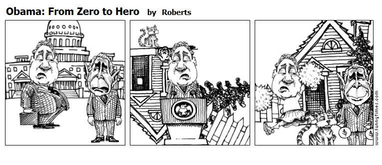 Obama From Zero to Hero by Roberts