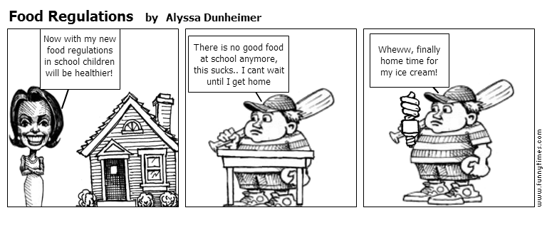 Food Regulations by Alyssa Dunheimer