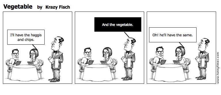 Vegetable by Krazy Fisch