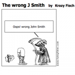 The wrong J Smith