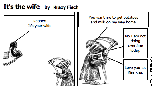 It's the wife by Krazy Fisch