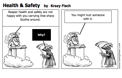 Health  Safety by Krazy Fisch