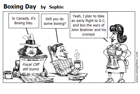 Boxing Day by Sophie