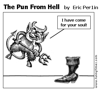 The Pun From Hell by Eric Per1in