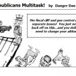 Deadline Looms Republicans Multitask