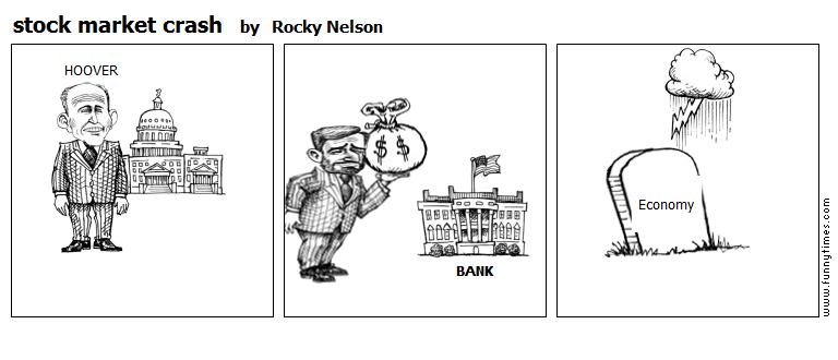 stock market crash by Rocky Nelson