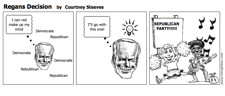 Regans Decision by Courtney Steeves