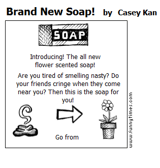 Brand New Soap by Casey Kan