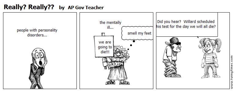 Really Really by AP Gov Teacher