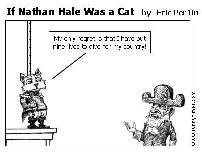 If Nathan Hale Was a Cat by Eric Per1in