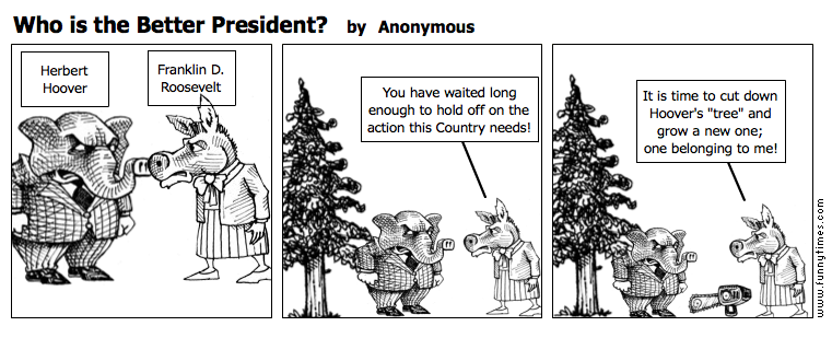 Who is the Better President by Anonymous