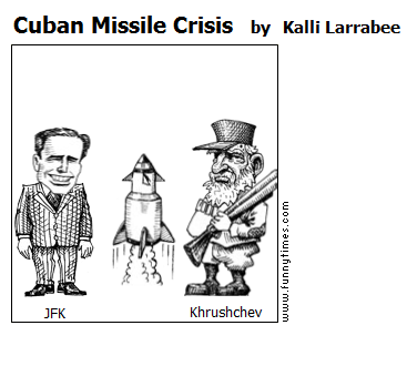 Cuban Missile Crisis by Kalli Larrabee