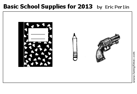 Basic School Supplies for 2013 by Eric Per1in