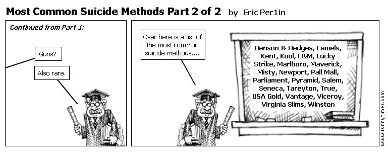 Most Common Suicide Methods Part 2 of 2 by Eric Per1in