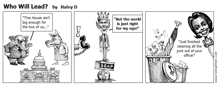 Who Will Lead by Haley D