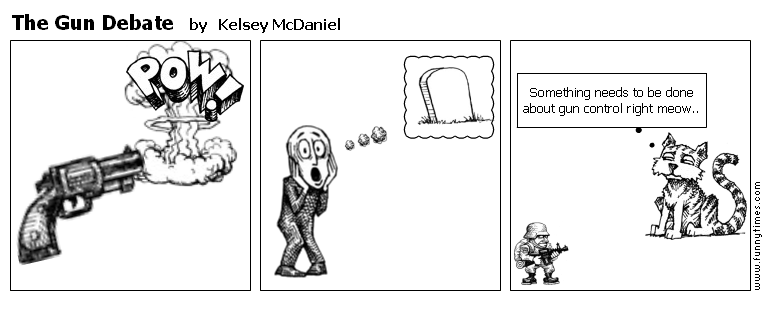 The Gun Debate by Kelsey McDaniel