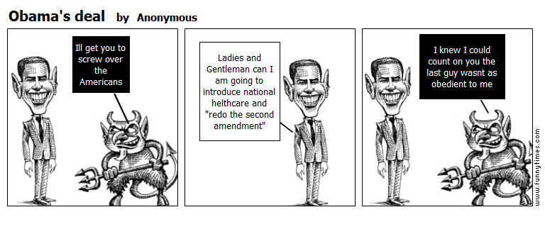 Obama's deal by Anonymous