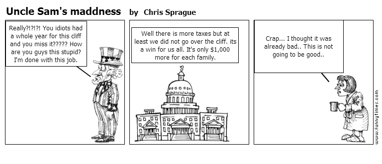 Uncle Sam's maddness by Chris Sprague