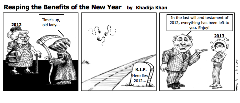 Reaping the Benefits of the New Year by Khadija Khan