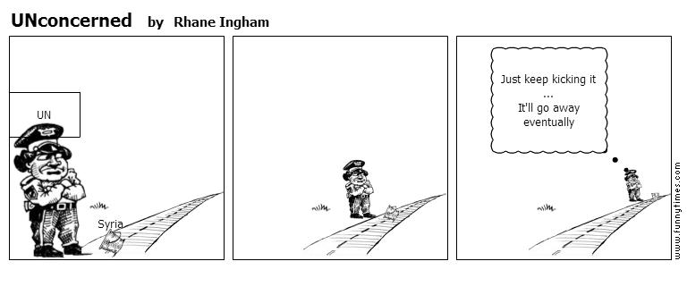 UNconcerned by Rhane Ingham