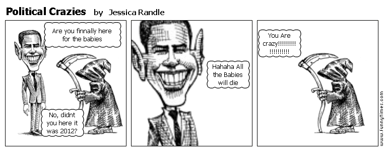 Political Crazies by Jessica Randle