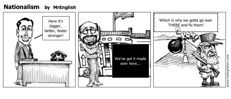 Nationalism by MrEnglish