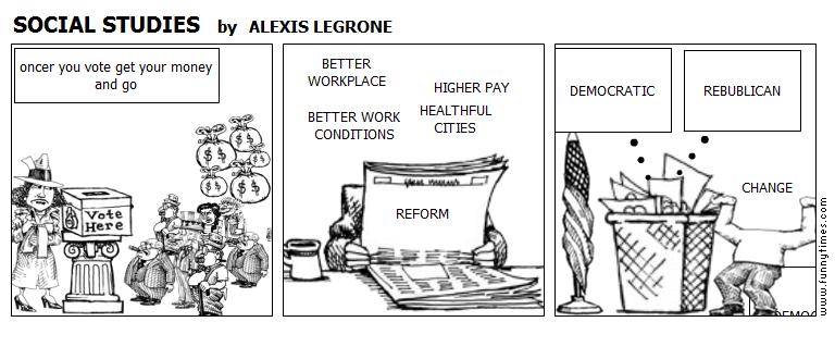 SOCIAL STUDIES by ALEXIS LEGRONE
