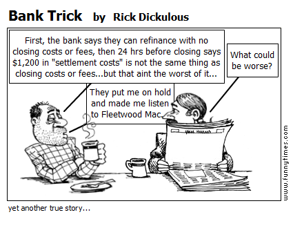 Bank Trick by Rick Dickulous