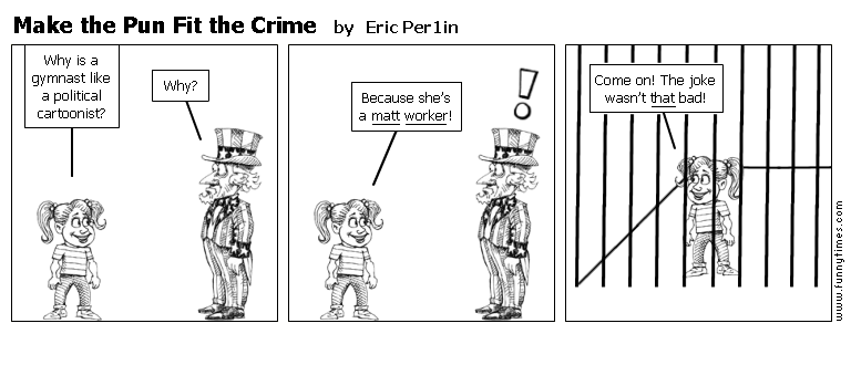 Make the Pun Fit the Crime by Eric Per1in