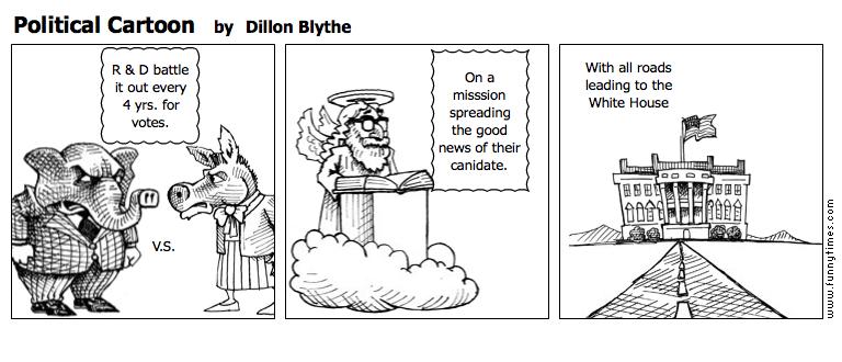 Political Cartoon by Dillon Blythe