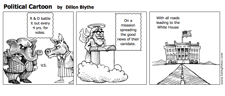 Political Cartoon by Dillon Blythe