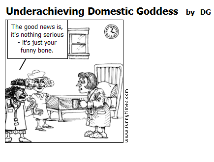 Underachieving Domestic Goddess by DG