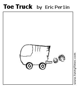 Toe Truck by Eric Per1in