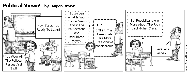 Political Views by Aspen Brown