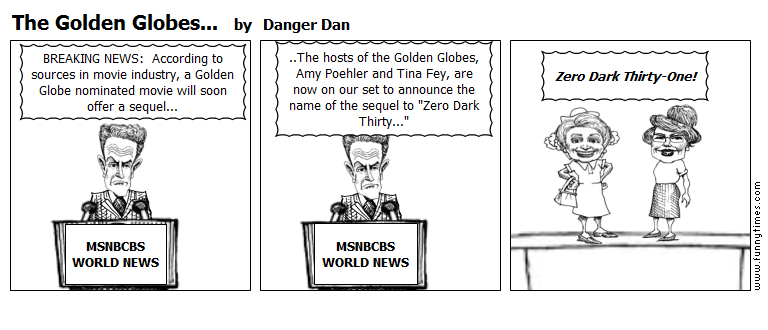 The Golden Globes... by Danger Dan