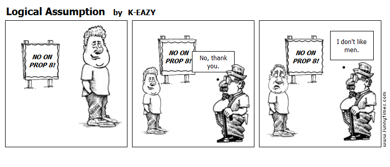 Logical Assumption by K-EAZY