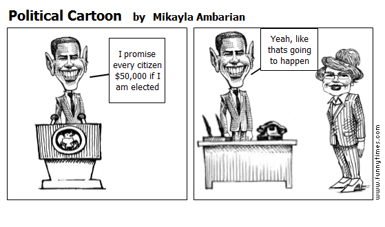 Political Cartoon by Mikayla Ambarian
