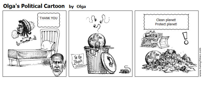 Olga's Political Cartoon by Olga